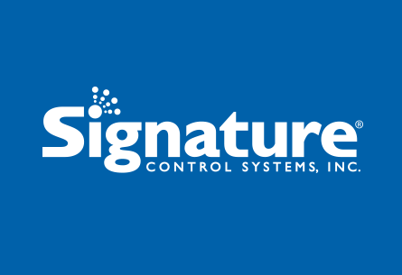 Signature Control Systems – FLIPSIDE graphic design